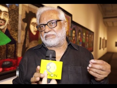 Exclusive conversation with Indian modern painter Manu Parekh