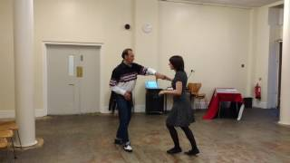 Rock 'n' roll dance lesson in central London