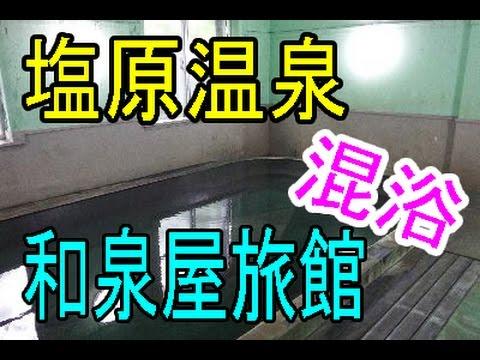 室内なのにプールみたいな大きい混浴温泉動画【塩原温泉・和泉屋旅館】もっと温泉に行こうよ!