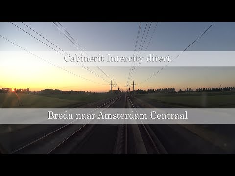 Cabinerit Intercity Direct Breda naar Amsterdam via de HSL
