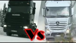 Scania vs Mercedes Benz |Electronic Stability Program