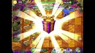 Plants Vs Zombies 2 IOS Walkthrough JURASSIC MARSH Day 12