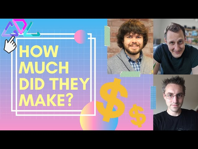 How Much Did They Make - GameDev Game Show 3 - #44 - Game Dev London Podcast