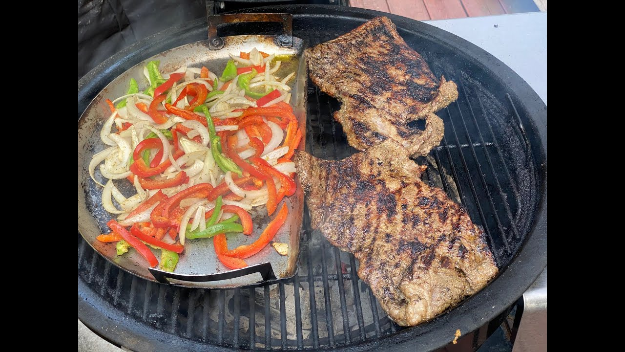 It's Grilling Time! Grilled Fajitas on the Weber Summit Charcoal Grill