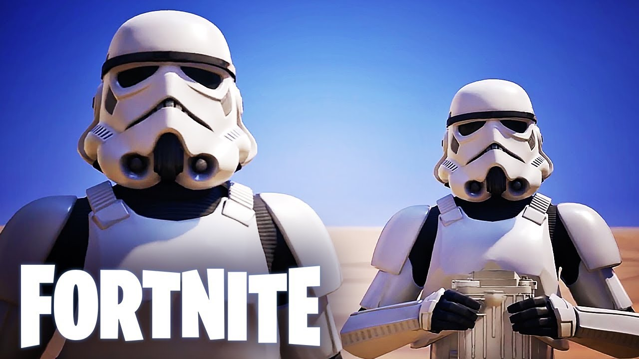 Fortnite Official Imperial Stormtrooper Announcement Trailer