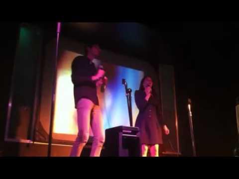 Twitterlessjan and Matty Karaoke