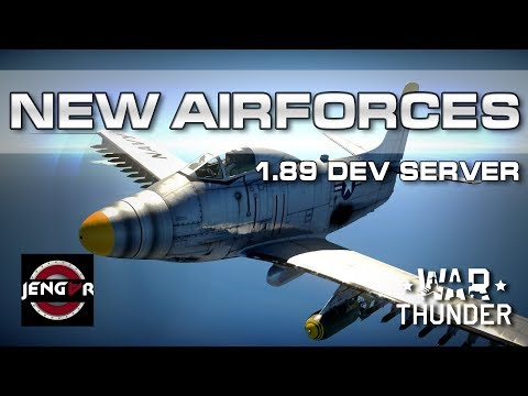 Patch 1.89: NEW AIRFORCES! [1st Dev Server!]