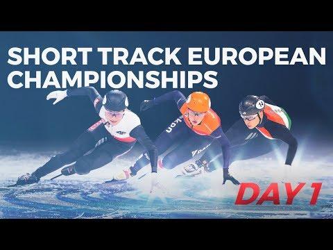 ISU Short Track Speed Skating | European Championships 2019 (Day 1)
