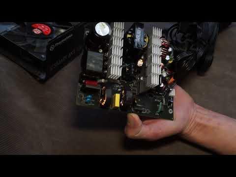 Обзор начинки блока питания Thermaltake Smart BX1 RGB 650W