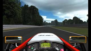 NetKar Pro gameplay - GT Driving Force Wheel Logitech -