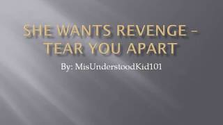 She Wants Revenge-Tear You Apart with lyrics