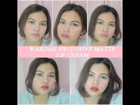 #letstoreview(11)-wardah-exclusive-matte-lip-cream-review-&-swatches