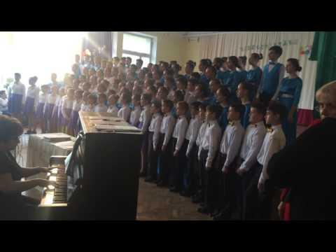 Children sing Champions League HYMN - Chisinau