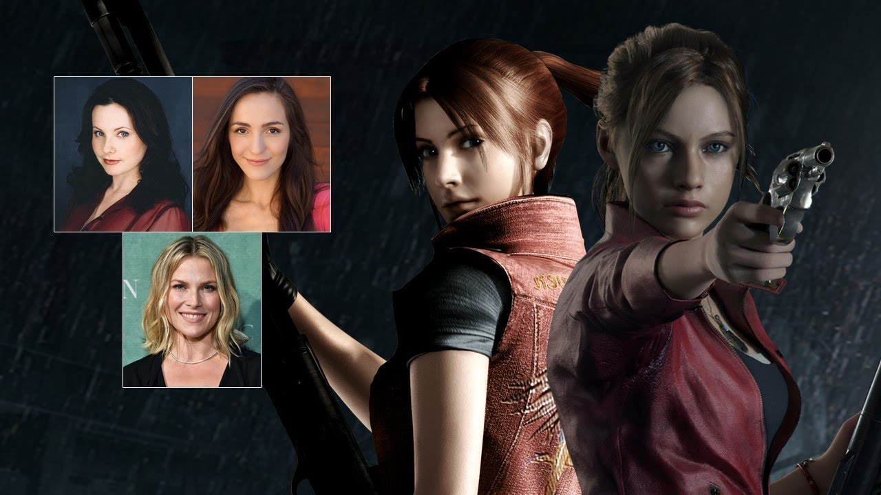 Comparing The Voices Claire Redfield Youtube