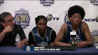 Post game press conference - girls central valley vs south valley all-stars