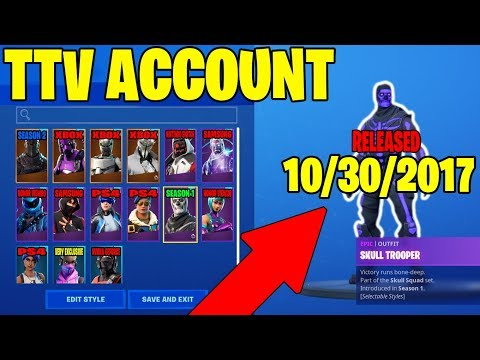 BIG TWITCH STREAMER GIVES ME HIS FORTNITE ACCOUNT... Here's What I Found! (Exclusive Account!)