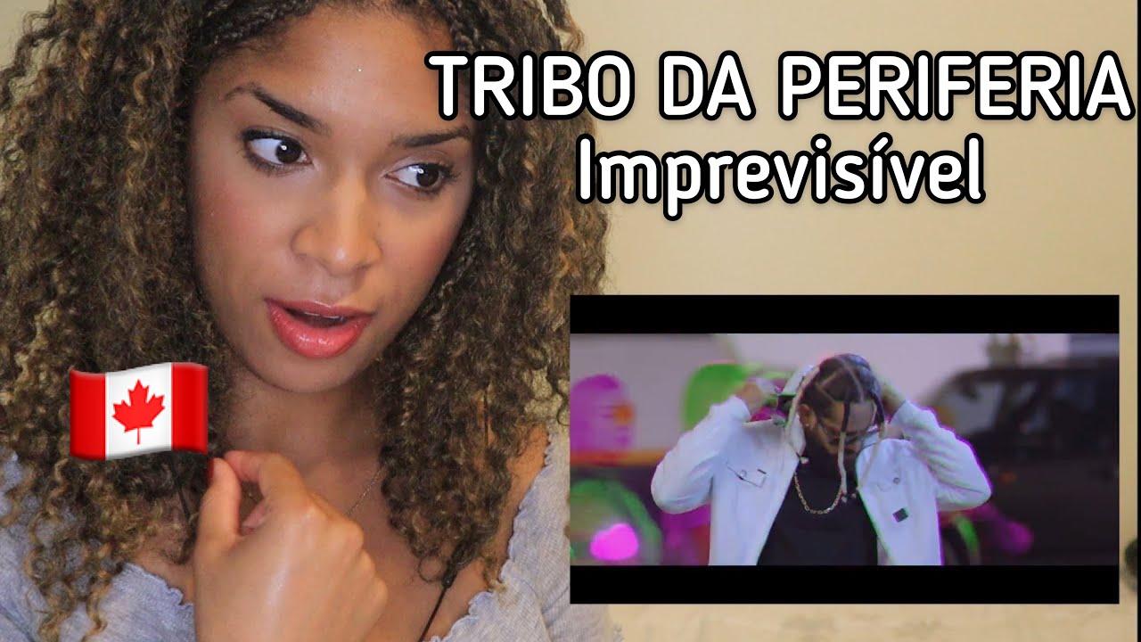 Canadense reage a Tribo da Periferia - Imprevisível (Official Music Video)