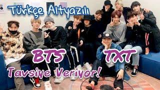 Türkçe Altyazılı BTS, TXTye Tavsiye Veriyor (ONE DREAM.TXT 1. BÖLÜM)