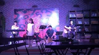 cover I love you baby acoustic by Linh Hồng Diệu Trần
