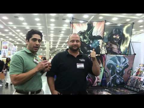 Baltimore Comic-Con Day 1: Interview with Drew Crowder of Hashtag Comics