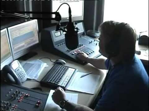 Geoff Morris on a UK radio station