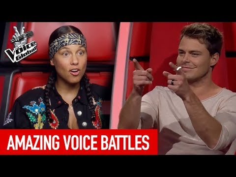 The Voice | AMAZING BATTLES you've never seen before