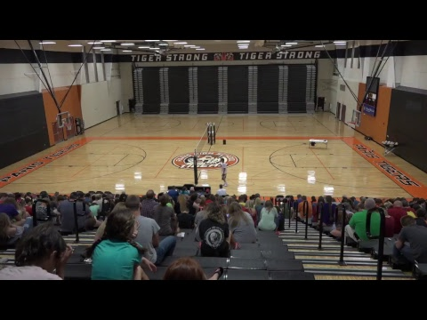 Bob Holmes, the One Man Volleyball Team @ Paris Cooperative High School - August 30, 2017