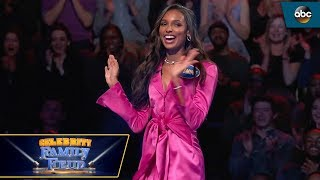 Victoria's Secret Angels Fast Money - Celebrity Family Feud