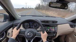 2020 Nissan Rogue SL AWD - POV Test Drive (Binaural Audio)