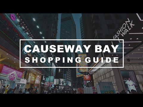 Best places to shop hong kong island