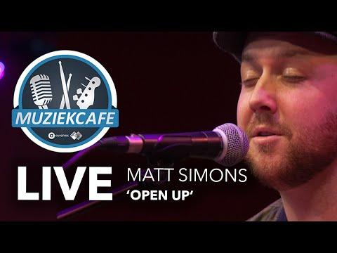Matt Simons - 'Open Up' live bij Muziekcafé