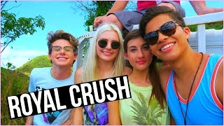 FILMING ROYAL CRUSH SEASON 2! | HauteVlog