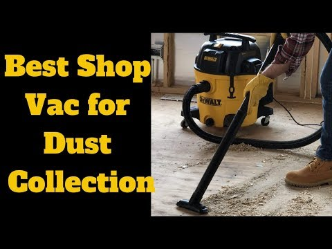 Best Shop Vac For Dust Collection Dewalt 12 Gallon Poly Wet Dry Vac Youtube