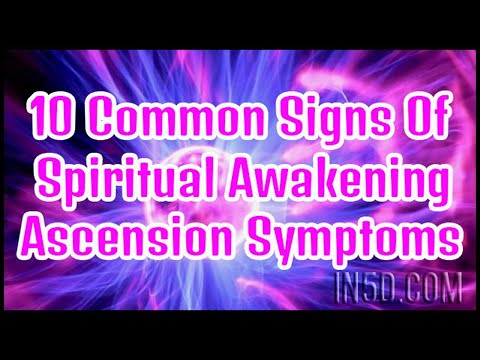 Top 10 Spiritual Awakening Symptoms |...