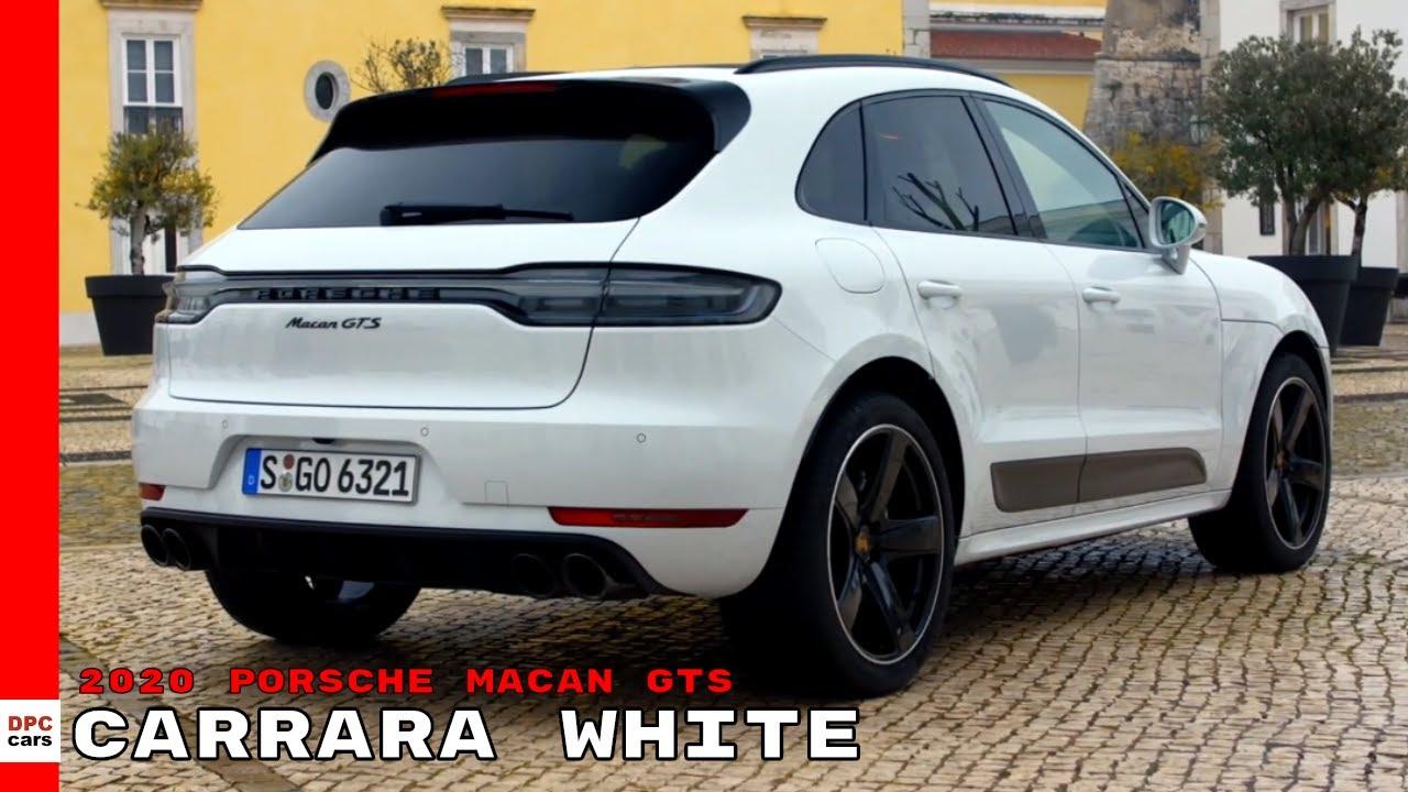 2020 Porsche Macan Gts Carrara White Youtube