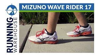 Mizuno Wave Rider 17 Shoe Review