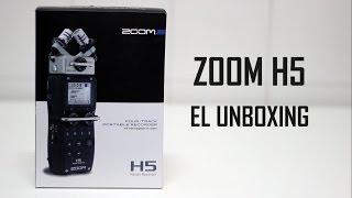 Unboxing Grabadora Zoom H5 (Español / Spanish)