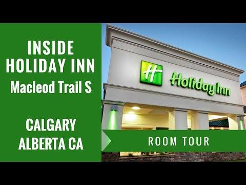 Holiday Inn, Calgary AB Canada HOTEL ROOM TOUR