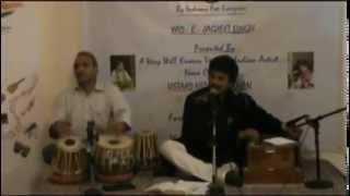 Ghazal & Classical Singer Nizam Ali Khan (Huzoor Aapka Bhi Ehtram Karta Chaloon)