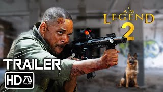 I Am Legend 2  2 HD Will Smith, Alice Braga, Woody Harrelson  Zombie Movie (Fan Made)