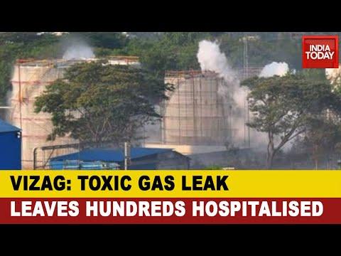 Vizag Gas Leak Tragedy: Toxic Gas Leak At Visakhapatnam Chemical Plant Leaves Hundreds Hospitalised