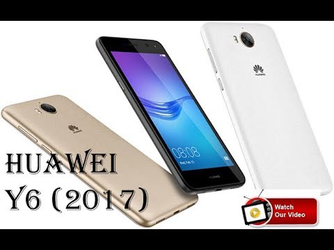 Huawei Y6 (2017) with Front Flash Full Reviews - YouTube