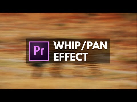 Whip Pan Blurring TRANSITION EFFECT Premiere Pro