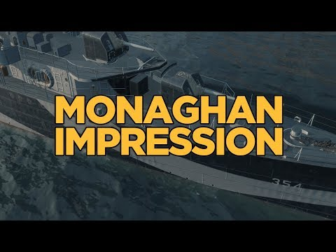 World of Warships - Monaghan Impression