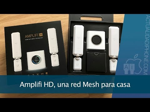 Amplifi HD, soluciona tus problemas WiFi con una red Mesh