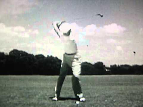 Byron Nelson Golf Swing / Frame-by-Frame (1945)
