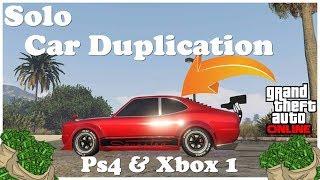 Gta 5 Solo Money Glitch * Brand New * Car Duplication Glitch Working After Patch 1.42 Ps4 & Xbox 1