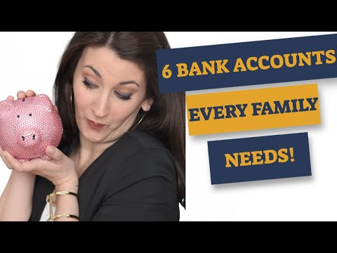 HOW MANY SAVINGS ACCOUNTS SHOULD I HAVE? Here are the top 6 accounts!