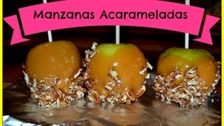 Aprende a hacer MANZANAS ACARAMELADAS ❤ ! / FÁCIL Thumbnail