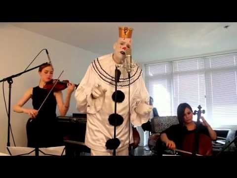 Chandelier    Sad Clown with the Golden Voice  Sia Cover ft  Puddles